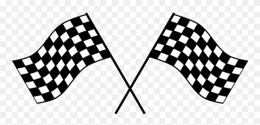 Race Car Flag Png Clipart (#603804).