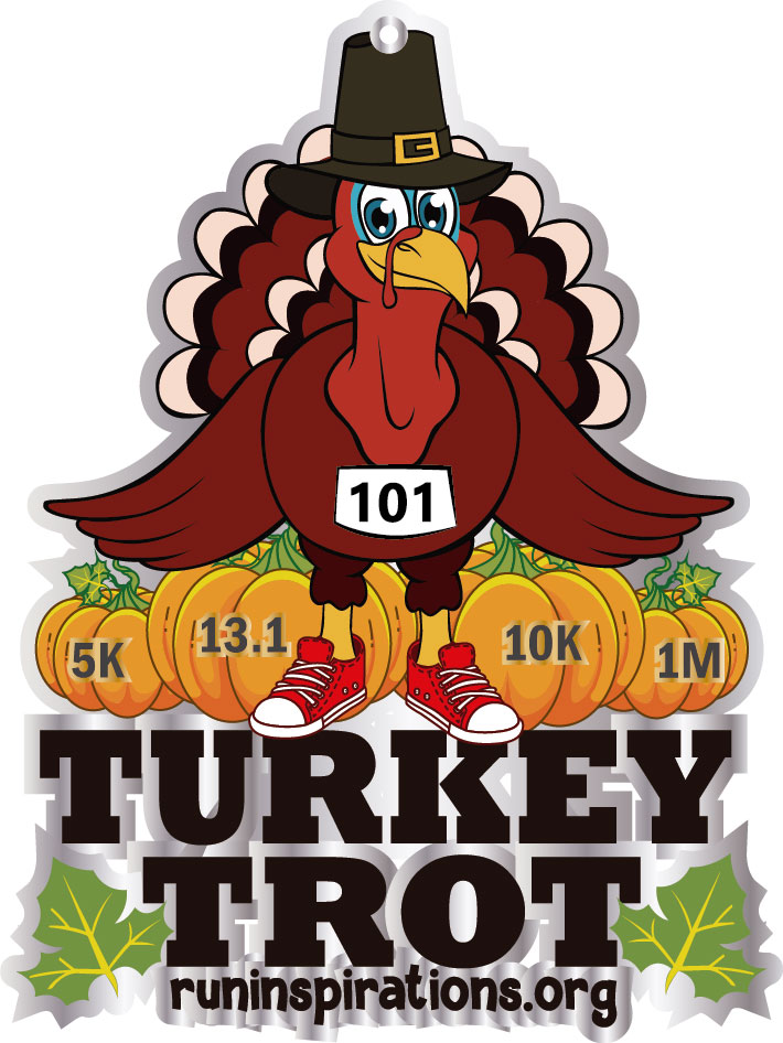 Turkey Trot 13.1M/10k/5k/1M Remote.