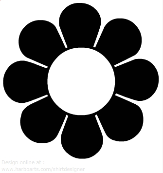 Download : 60s inspired flower.