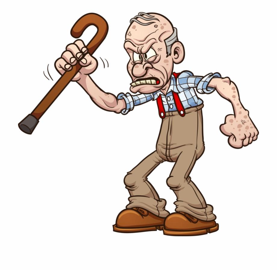 Grumpy Old Person.