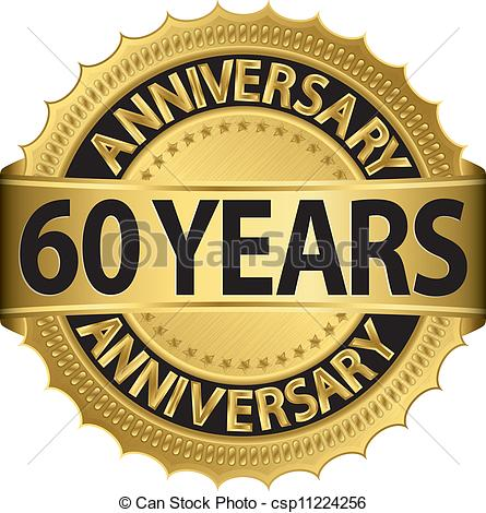60 Years Clipart.
