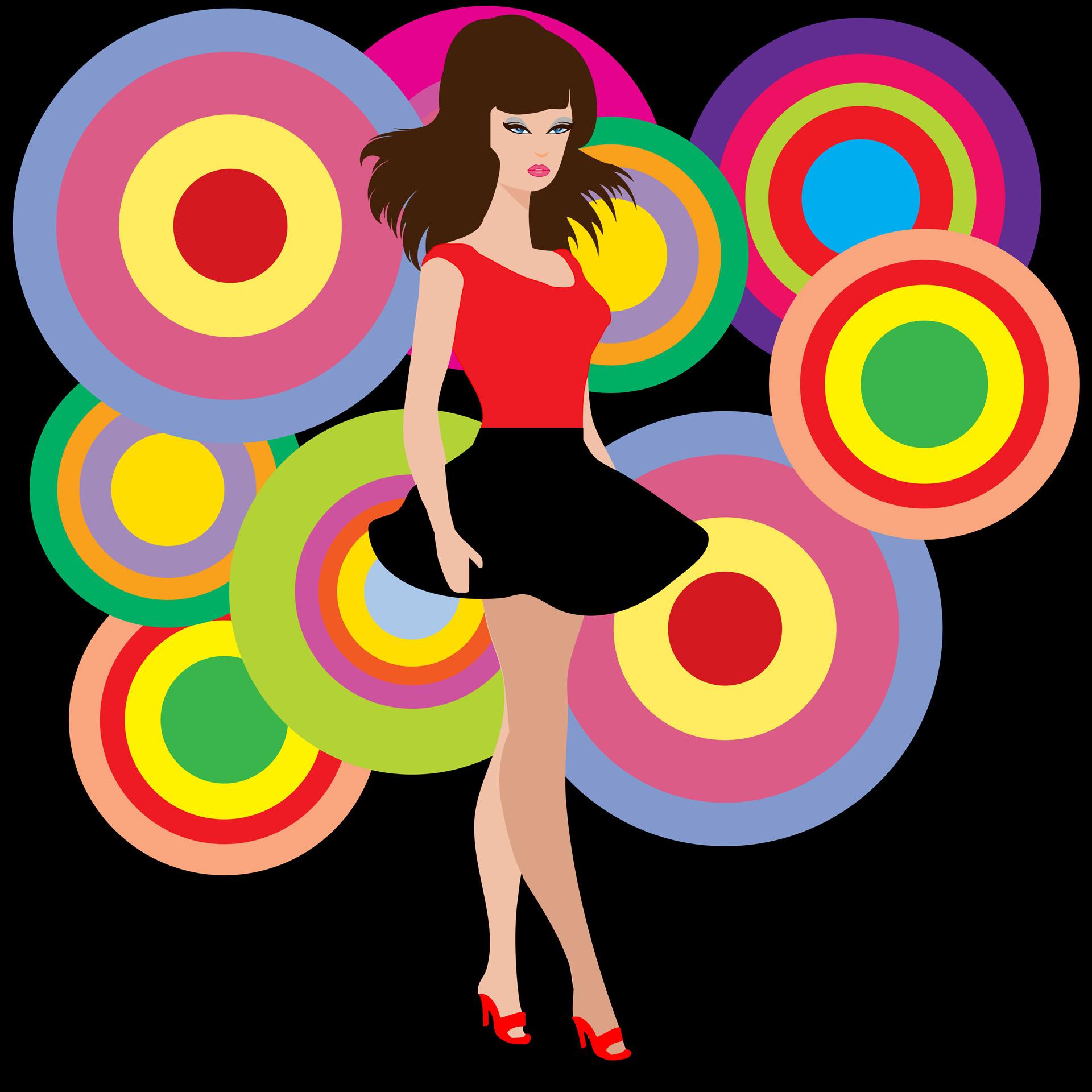 60s,retro,disco,party,girl.
