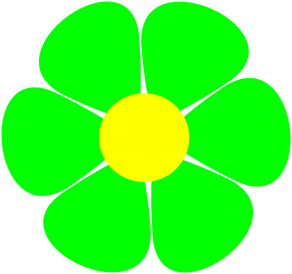 Flowerpower Clip Art at Clker.com.