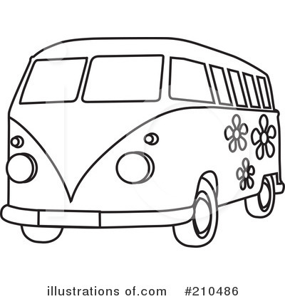Van Clipart Black And White.