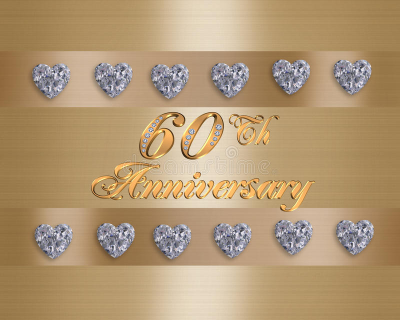 60th Anniversary Stock Illustrations.
