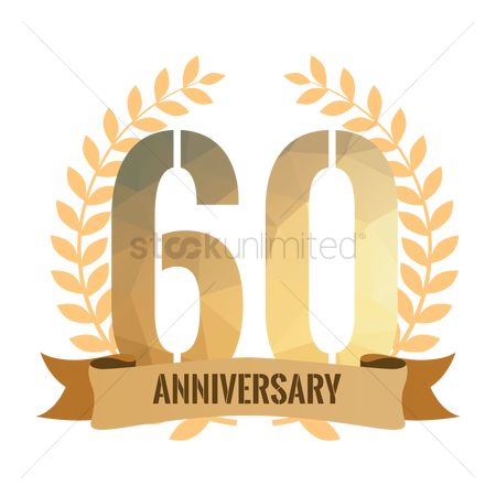 Free 60th Anniversary Stock Vectors.