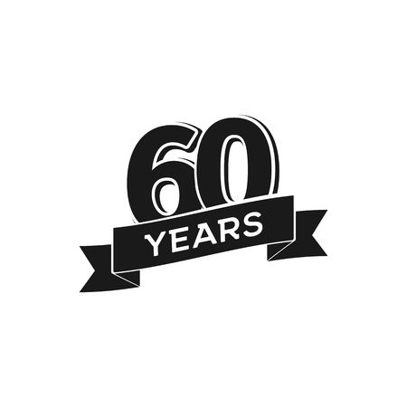 60th Anniversary Stock Vector Illustration And Royalty Free 60th.
