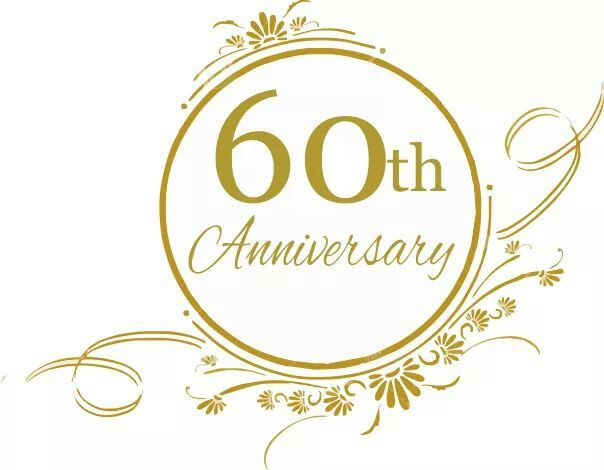 Diamond Wedding Anniversary Clipart.