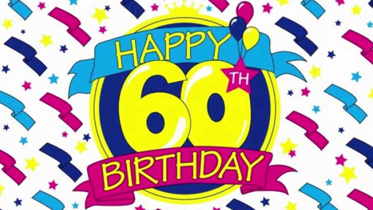 Clipart For 60th Birthday Party.