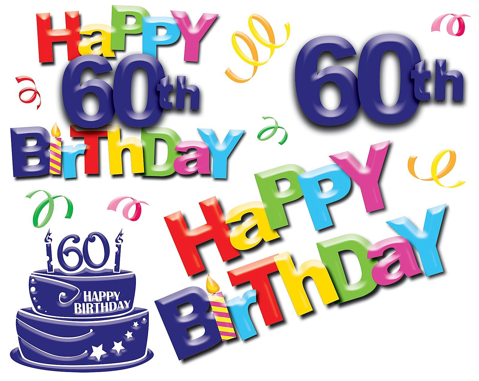 60Th Birthday PNG HD Transparent 60Th Birthday HD.PNG Images..