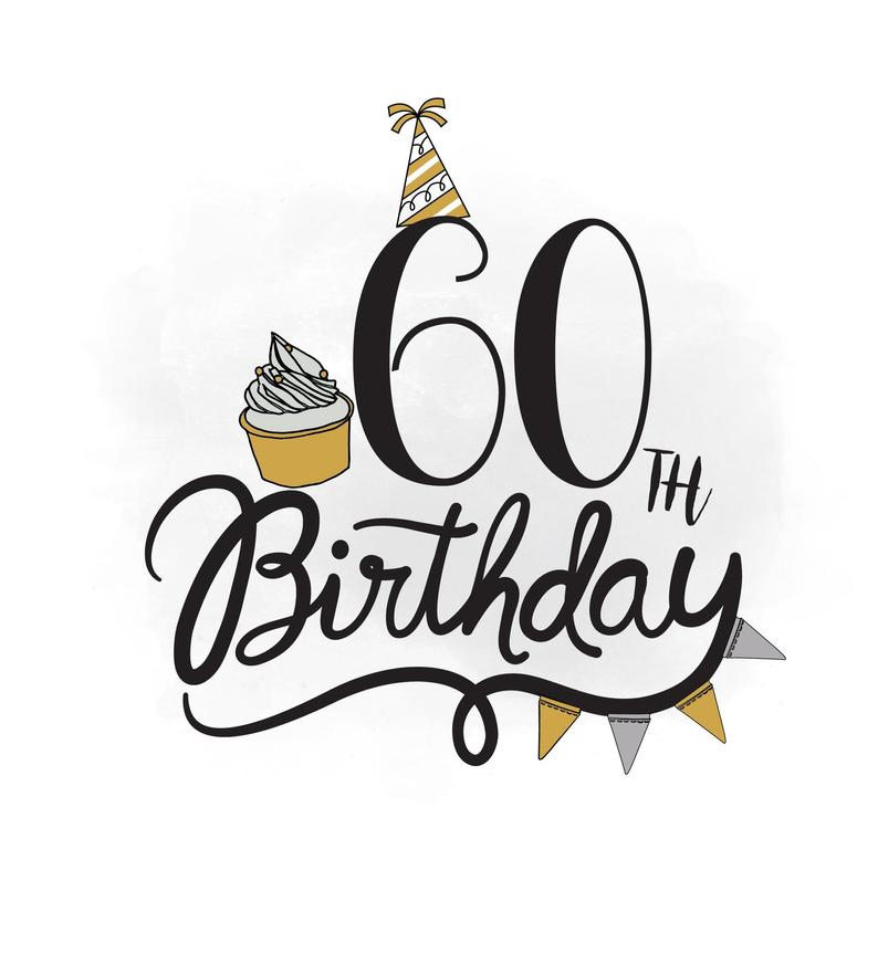 Nobby 60th Birthday Clip Art Entracing 93 Pictures Adults.