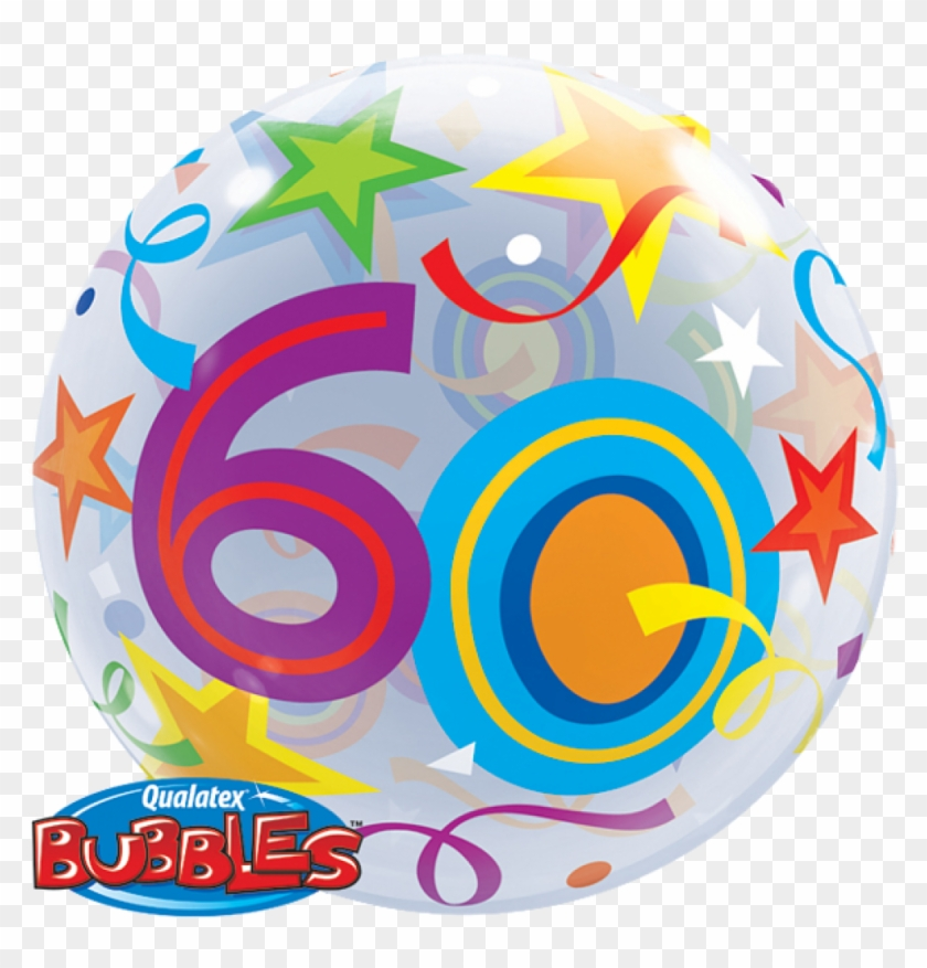 Bubble Balloon 60th Birthday.