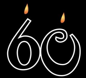 Free Happy 60th Birthday Clip Art.