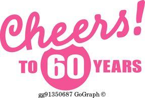 60Th Birthday Clip Art.