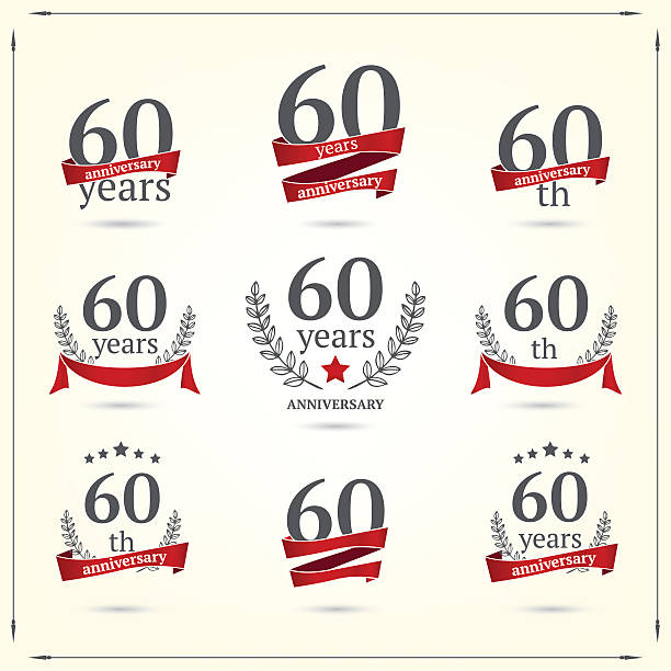 Best 60th Anniversary Illustrations, Royalty.