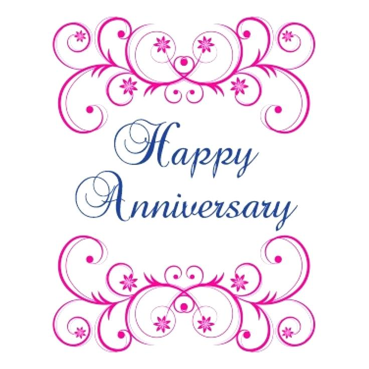 Free Wedding Anniversary Clipart Image 60th.