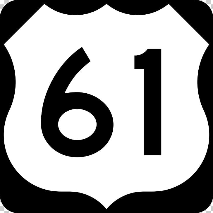U.S. Route 61 U.S. Route 41 Interstate 70 Blue & White.