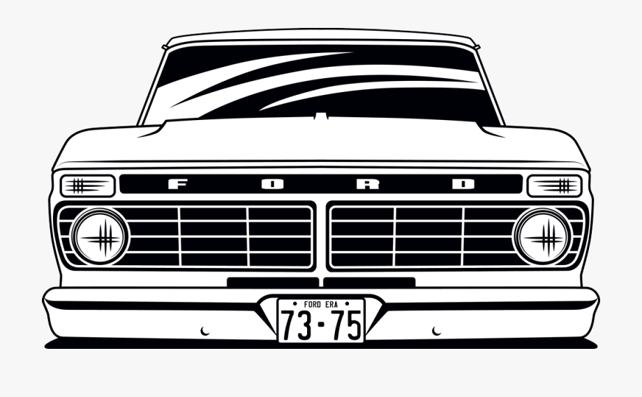 Pickup Clipart F100.