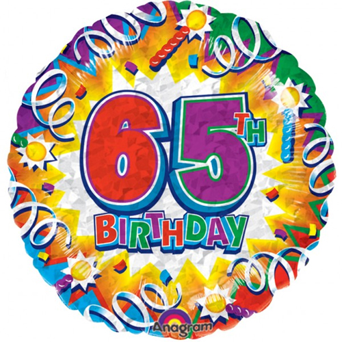 65 Birthday Clipart.