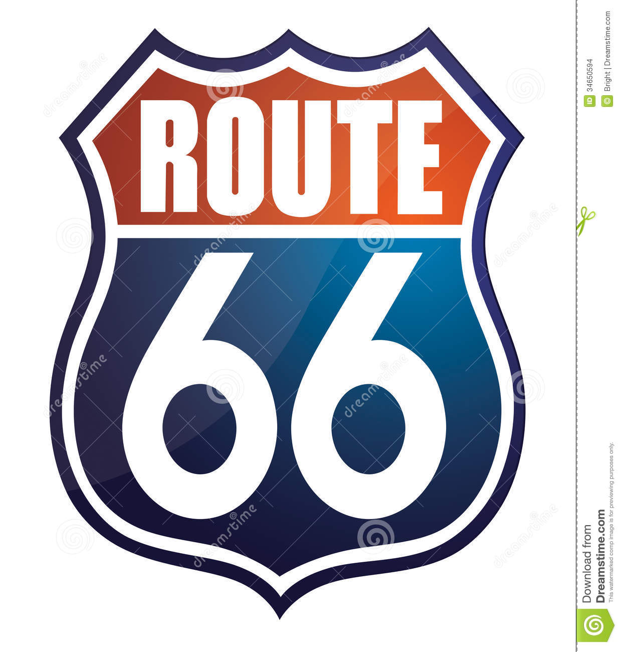 Route 66 #10Jlyg.