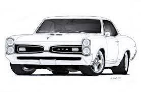 custom car drawings.