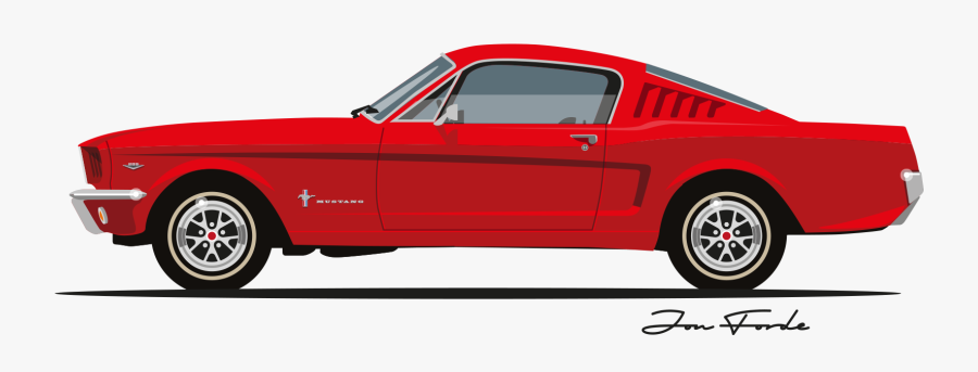 67 Mustang.