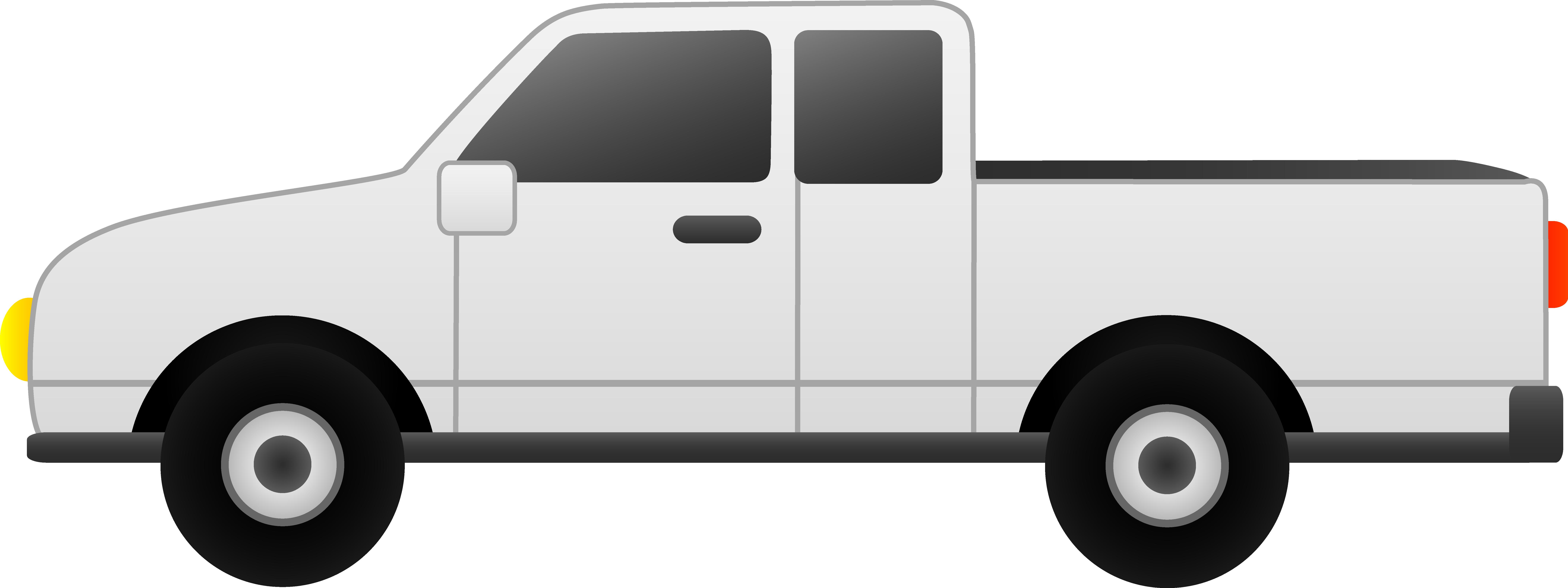 Pickup Truck Clipart.