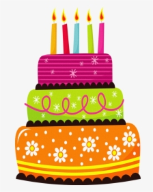Birthday Cake Cliparts Png Transparent Background, Png.