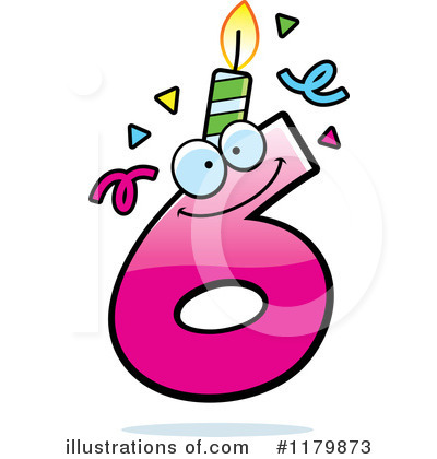 Birthday Candle Clipart #1179873.