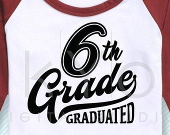 6th grade graduation.