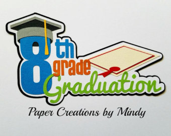 8th Grade Graduation Clipart.