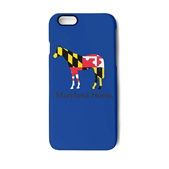 Amazon.com: Fit iPhone 6 Plus case Home Maryland Horse.