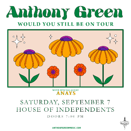 Ticket for Anthony Green.
