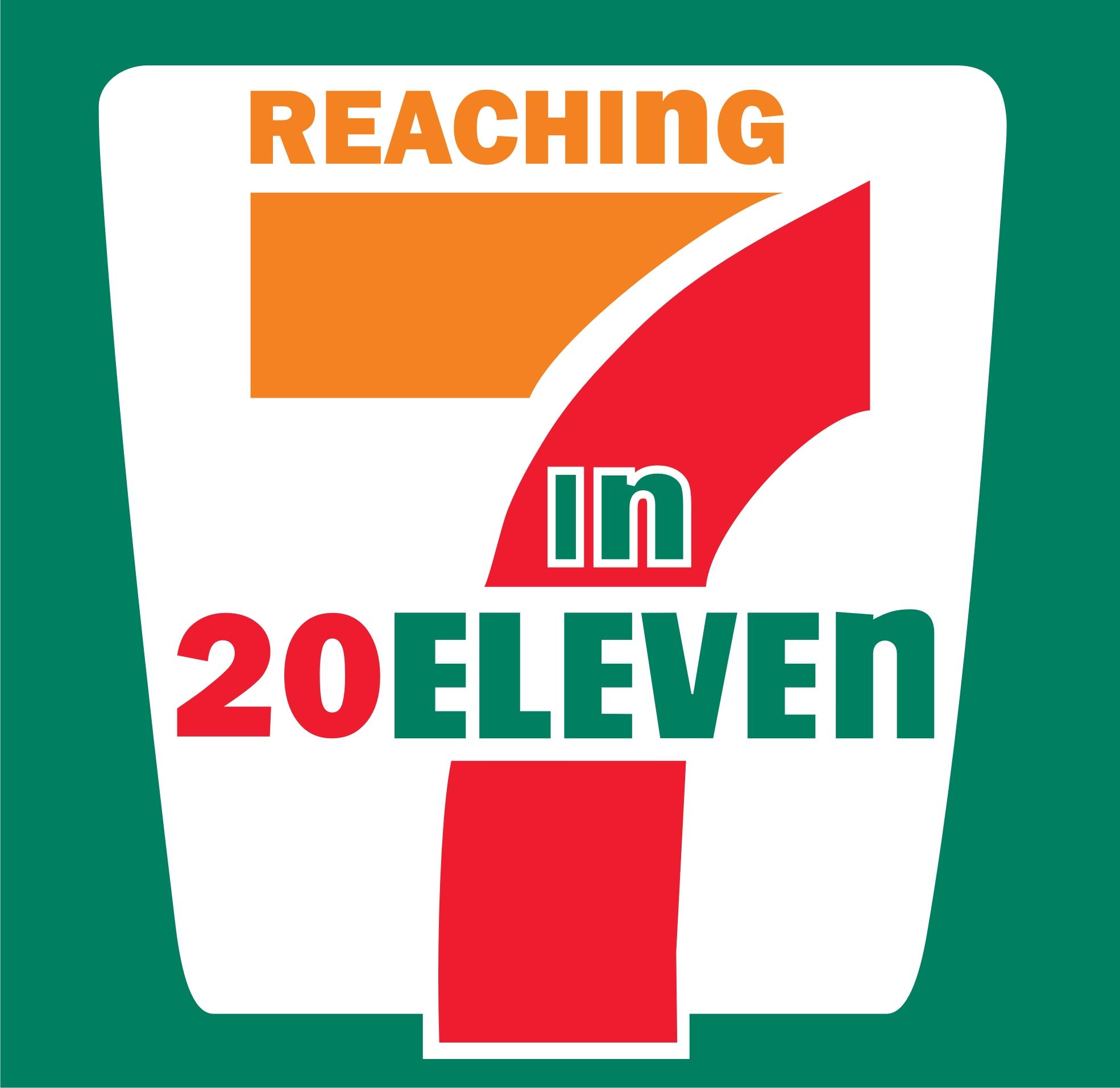 7 Eleven Clipart.