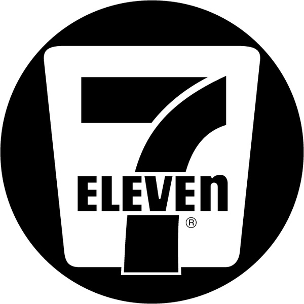 7 eleven 1 Free vector in Encapsulated PostScript eps ( .eps.