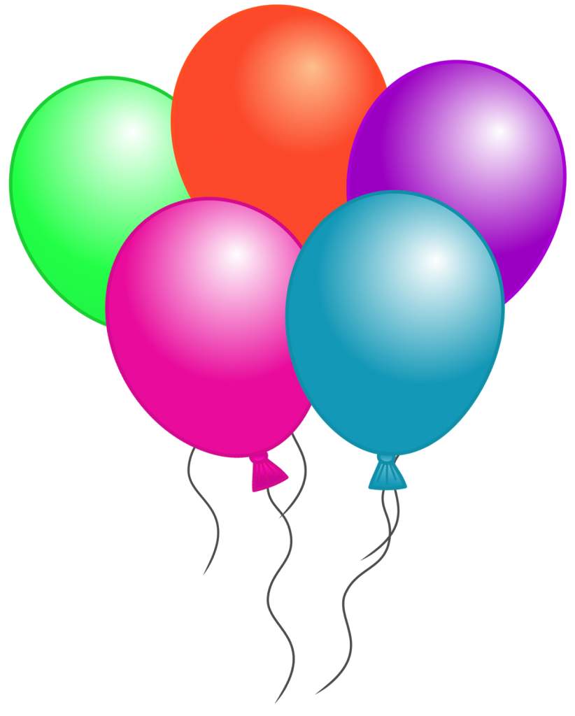 Free Birthday Balloon Clip Art Free Clipart Images.