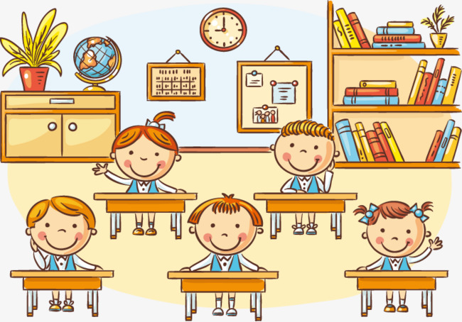 Classroom children clipart 7 » Clipart Station.
