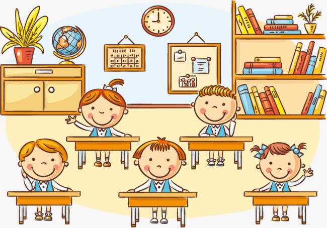 Classroom children clipart 7 » Clipart Station.
