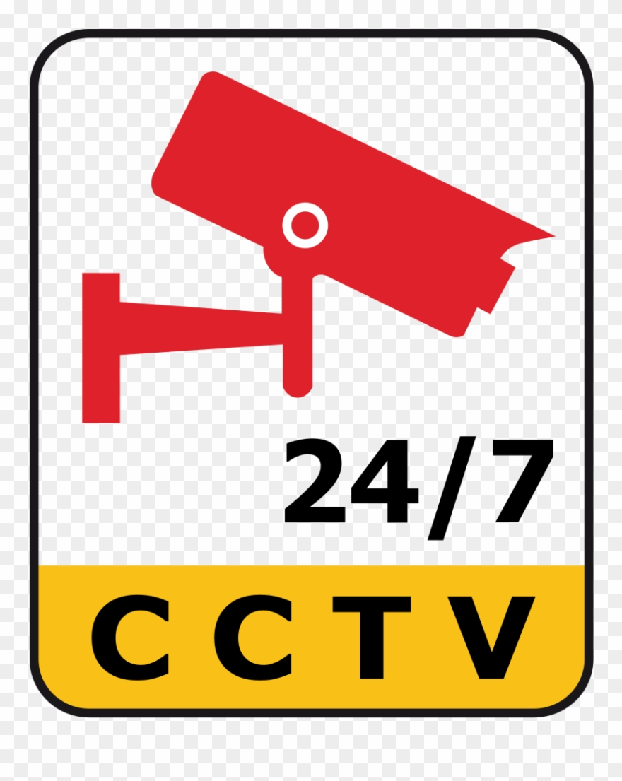 Cctv 24 7 Clipart Closed.