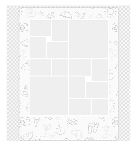 7 collage template clipart clipart images gallery for free.