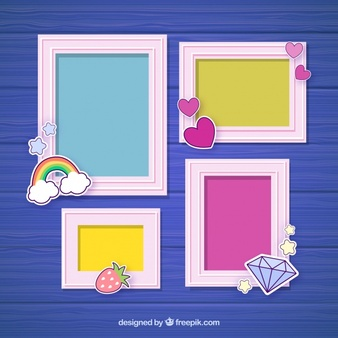 7 frame collage template clipart clipart images gallery for.