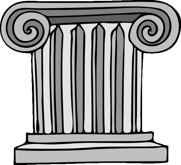 Columns Clipart four pillars 7.