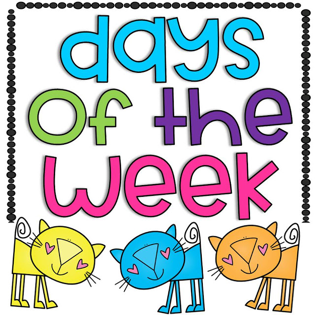 Doodle Bugs Teaching {first grade rocks!}: Days of the Week.
