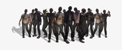 Zombie Png 7 Days To Die Transparent PNG Image.