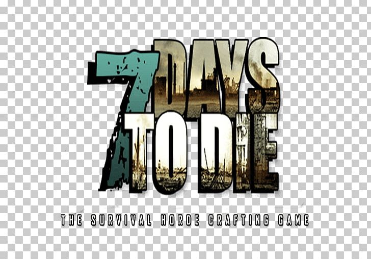 Logo 7 Days To Die Brand Font PNG, Clipart, 7 Days, 7 Days To Die.