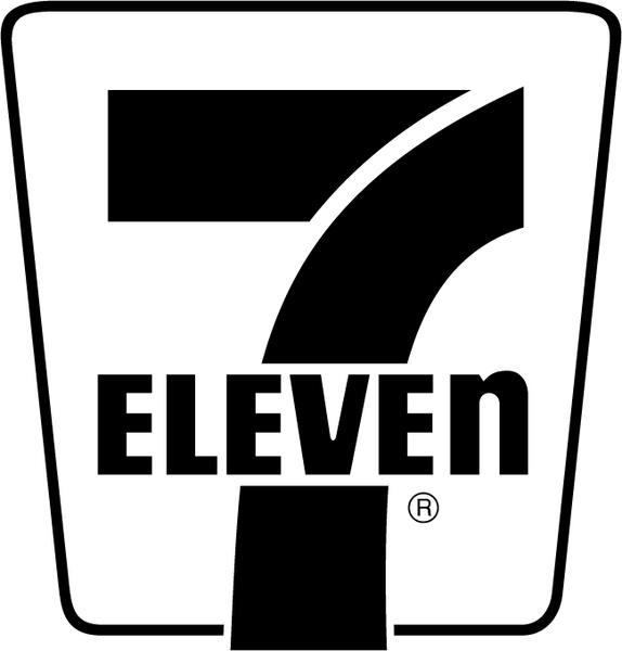 7 eleven 2 Free vector in Encapsulated PostScript eps ( .eps.