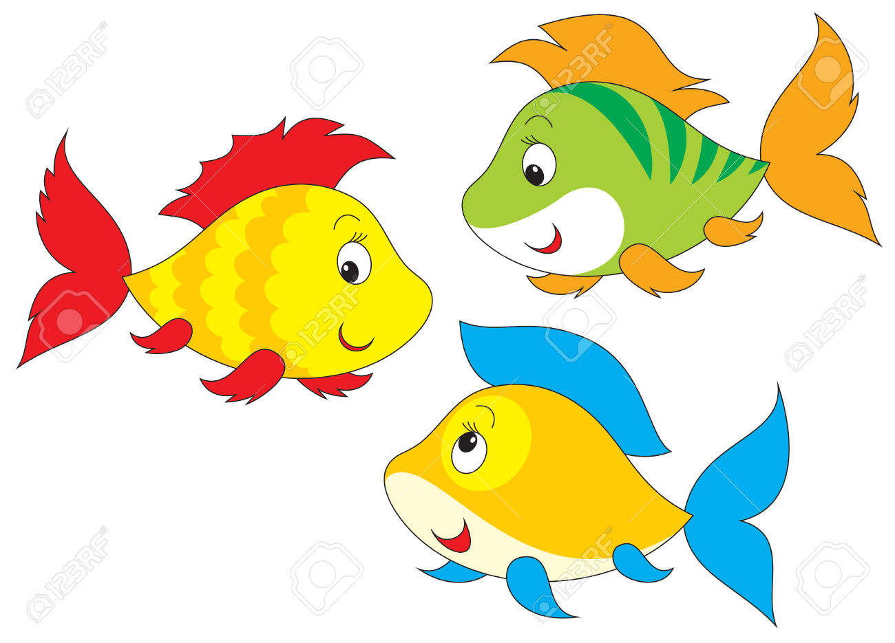 Fishes clipart 7 » Clipart Station.
