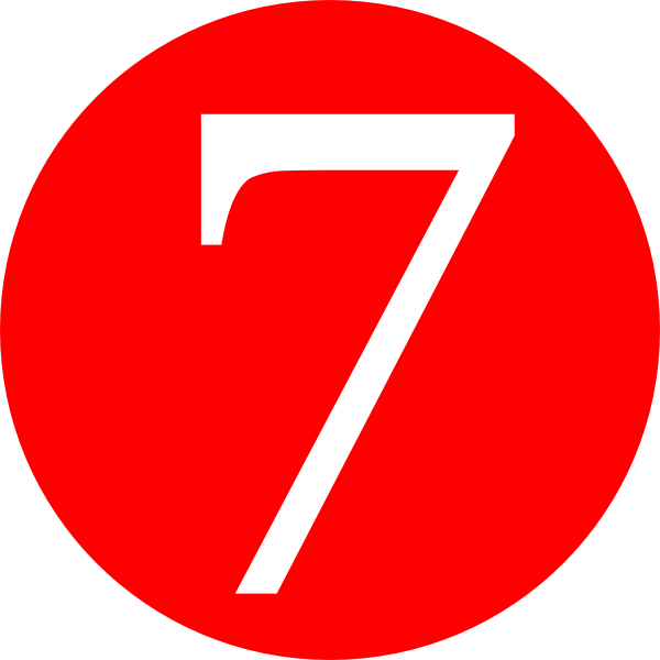 Number 7 PNG images free download, 7 PNG.