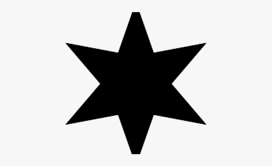 Starburst Clipart 7 Point Star.
