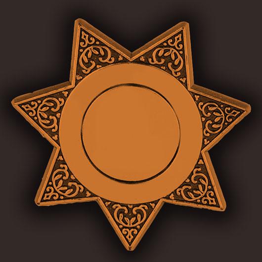 Blank Junior Deputy Badges Bulk.